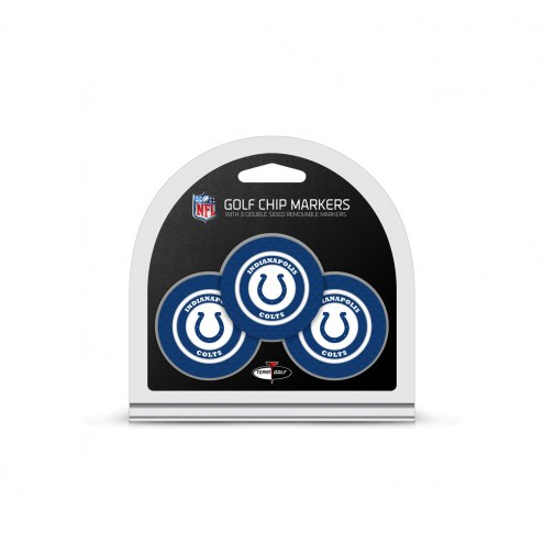 Indianapolis Colts Golf Chip Ball Markers