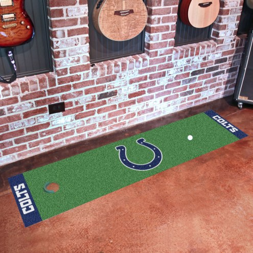 Indianapolis Colts Golf Putting Green Mat