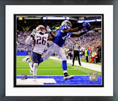 Indianapolis Colts Hakeem Nicks 2014 Action Framed Photo