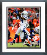 Indianapolis Colts Hakeem Nicks Playoff Action Framed Photo