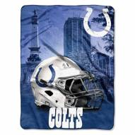 Indianapolis Colts Heritage Silk Touch Blanket