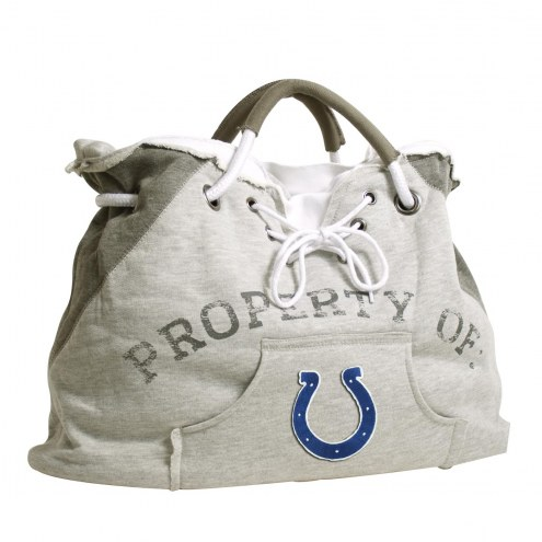 Indianapolis Colts Hoodie Tote Bag