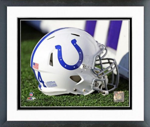 Indianapolis Colts Indianapolis Colts Helmet Framed Photo