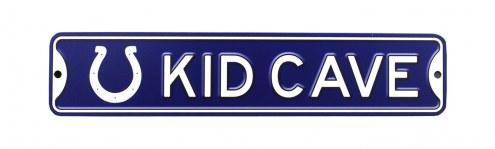Indianapolis Colts Kid Cave Street Sign