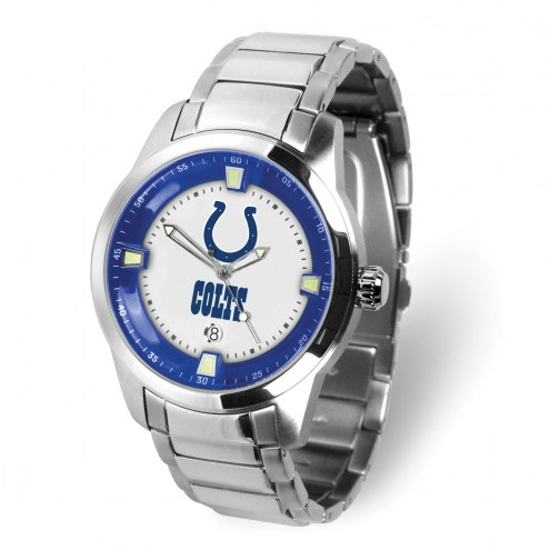 Indianapolis Colts Titan Steel Men's Watch