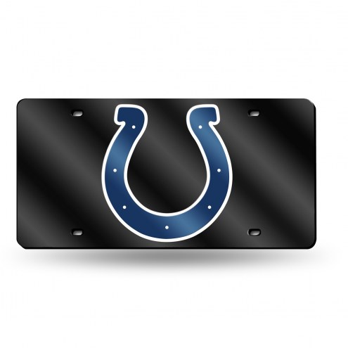 Indianapolis Colts Laser Cut License Plate