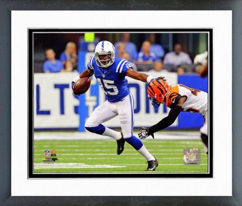 Indianapolis Colts Lavon Brazill 2012 Action Framed Photo