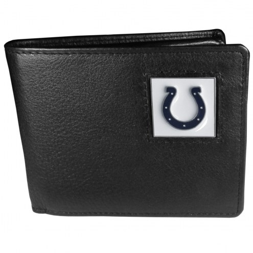 Indianapolis Colts Leather Bi-fold Wallet in Gift Box