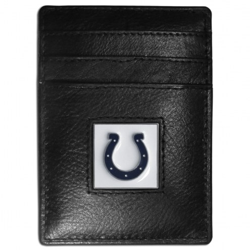 Indianapolis Colts Leather Money Clip/Cardholder