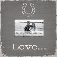 Indianapolis Colts Love Picture Frame