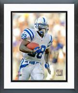 Indianapolis Colts Marshall Faulk Action Framed Photo