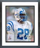 Indianapolis Colts Marshall Faulk Framed Photo