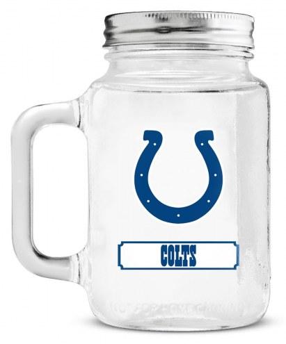 Indianapolis Colts Mason Glass Jar