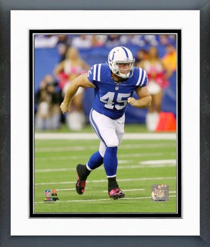 Indianapolis Colts Matt Overton 2014 Action Framed Photo