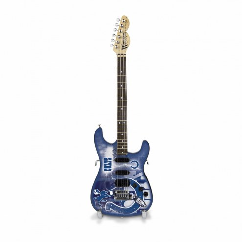 Indianapolis Colts Mini Collectible Guitar