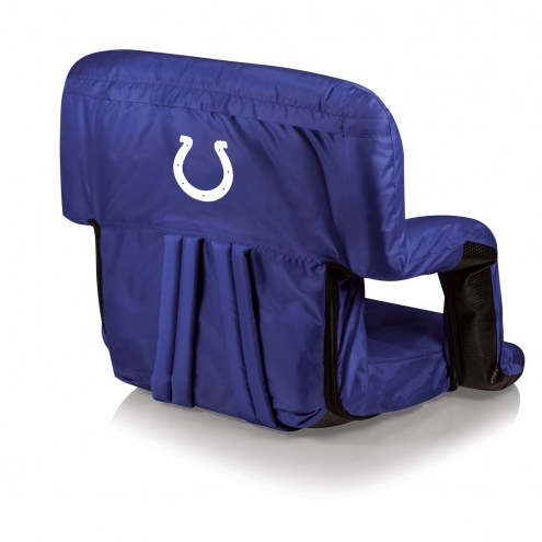 Indianapolis Colts Navy Ventura Portable Outdoor Recliner