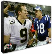 Indianapolis Colts & New Orleans Saints Peyton Manning, Drew Brees Photo