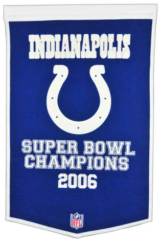Indianapolis Colts NFL Dynasty Banner