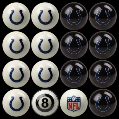 Indianapolis Colts NFL Home vs. Away Pool Ball Set