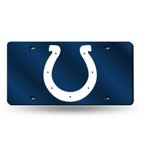 Indianapolis Colts NFL Laser Cut License Plate