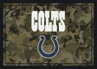 Indianapolis Colts NFL Team Camo Area Rug