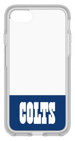 Indianapolis Colts OtterBox iPhone 8/7 Symmetry Clear Case