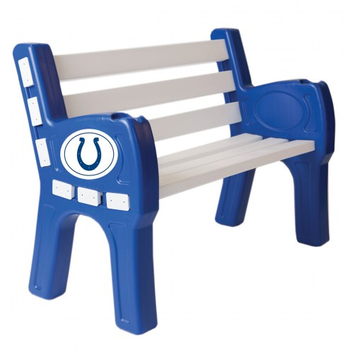 Indianapolis Colts Park Bench