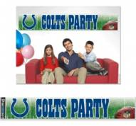 Indianapolis Colts Party Banner