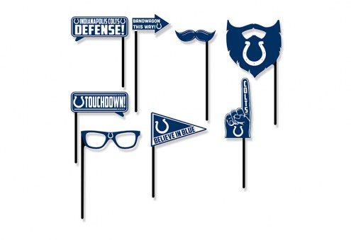 Indianapolis Colts Party Props Selfie Kit
