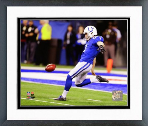 Indianapolis Colts Pat McAfee Action Framed Photo