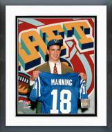 Indianapolis Colts Payton Manning 1998 Draft Day Framed Photo