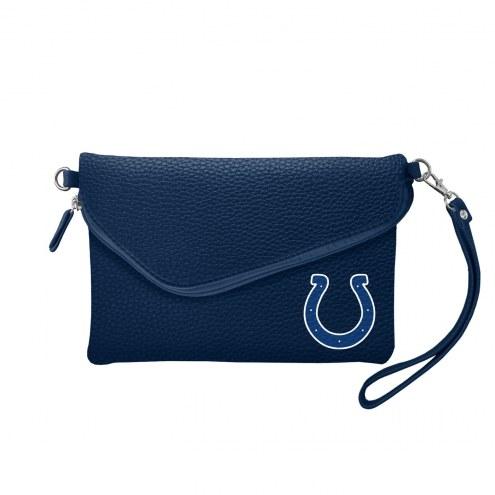 Indianapolis Colts Pebble Fold Over Purse