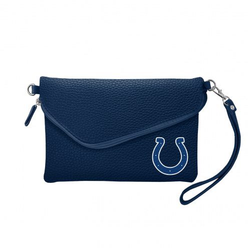Indianapolis Colts Pebble Fold Over Purse