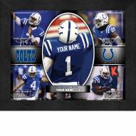Indianapolis Colts Personalized 11 x 14 Framed Action Collage