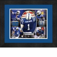 Indianapolis Colts Personalized 13 x 16 Framed Action Collage