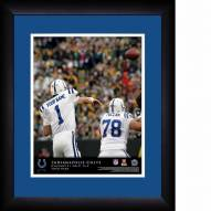 Indianapolis Colts Personalized 13 x 16 NFL Action QB Framed Print