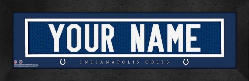 Indianapolis Colts Personalized Stitched Jersey Print