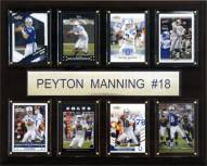 """Indianapolis Colts Peyton Manning 12"""" x 15"""" Card Plaque"""