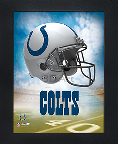 Indianapolis Colts Framed 3D Wall Art