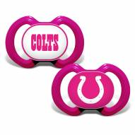 Indianapolis Colts Pink Baby Pacifier 2-Pack