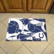 Indianapolis Colts Quicksnap Scraper Door Mat