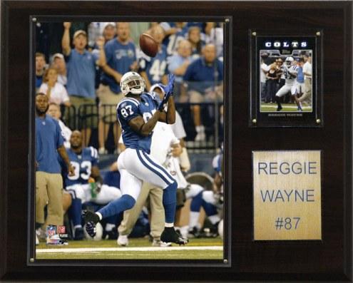 "Indianapolis Colts Reggie Wayne 12 x 15"" Player Plaque"