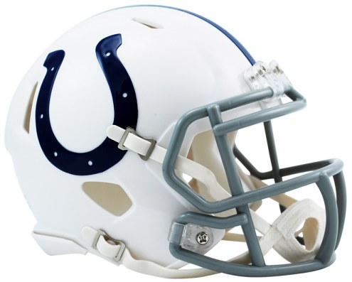 Indianapolis Colts Riddell Speed Mini Collectible Football Helmet