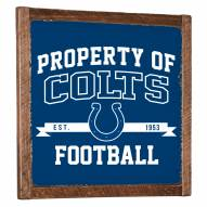 Indianapolis Colts Vintage Wall Art