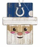 Indianapolis Colts Santa Ornament
