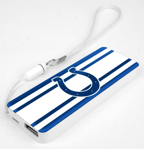 Indianapolis Colts Slim Power Bank Portable Charger