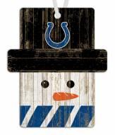 Indianapolis Colts Snowman Ornament