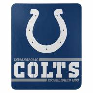 Indianapolis Colts Split Wide Fleece Blanket
