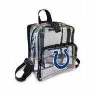 Indianapolis Colts Stadium Friendly Clear Mini Backpack