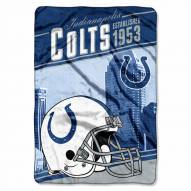 Indianapolis Colts Stagger Raschel Blanket